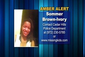 AMBER ALERT sommer brown lisa brown