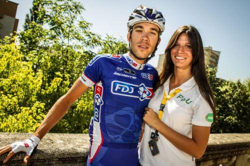 Andrea Vannier Thibaut Pinot girlfriend photo