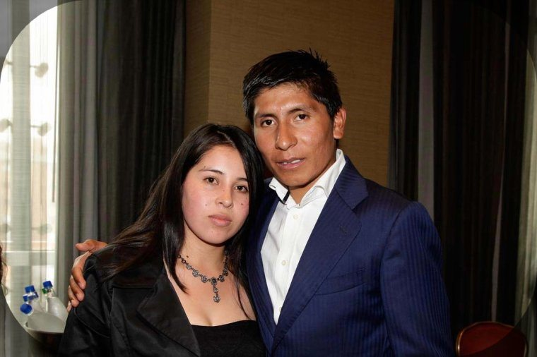 Nairo Quintana with Wife Yeime Paola Hernández