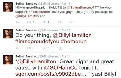 Selina Samano Billy Hamilton