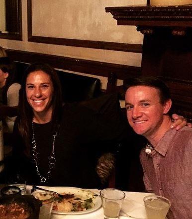 Brian hollins usa carli lloyd s boyfriend bio wiki photos
