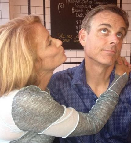 ?Image: Colin Cowherd and Ann Cowherd