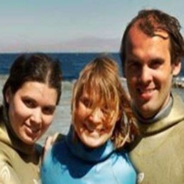 Oksana and Alexey Molchanov Freediver Natalia Molchanova Children