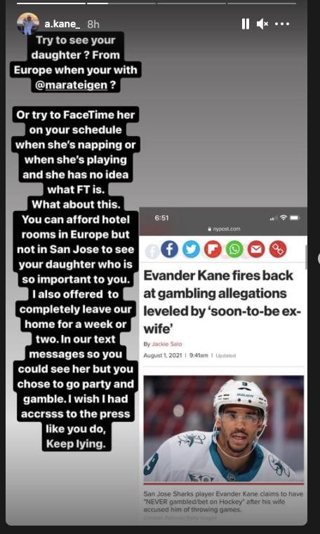 Mara Teigen,Evander Kane wife,Evander Kane girlfriend