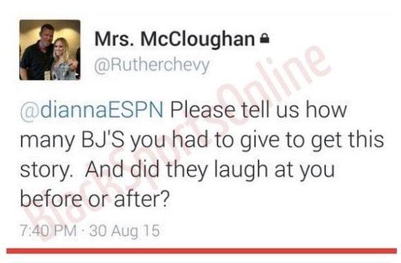 Jessica McCloughan Dianna Russini twitter
