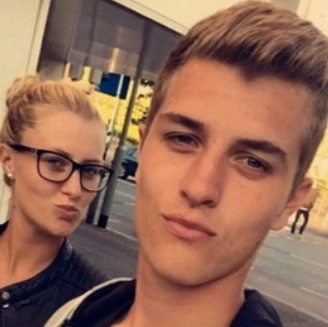 Luka Mladenovic Kristina Mladenovic's Hot Brother