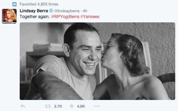 Lindsay Berra Yogi Berra