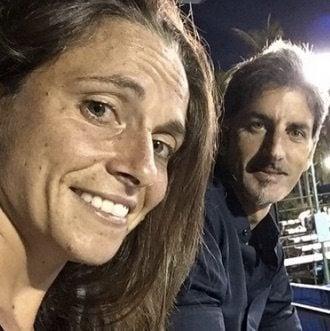 Roberta Vinci coach Francesco Cina