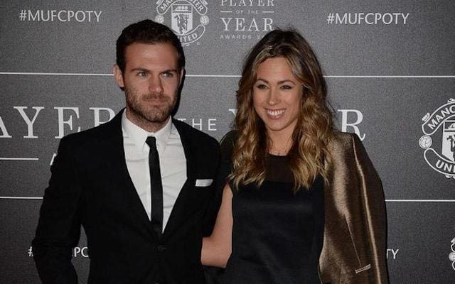 Juan Mata's Girlfriend Evelina Kamph