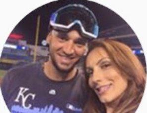 MLB Paulo Orlando's Wife Fabricia Orlando