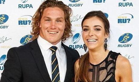 Rugby Michael Hooper's Girlfriend Kate Howard