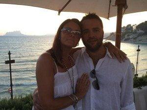 Karron Eubank second husband Chris Meadows