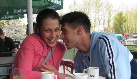 Joanna Jedrzejczyk's boyfriend Przemysław Buta