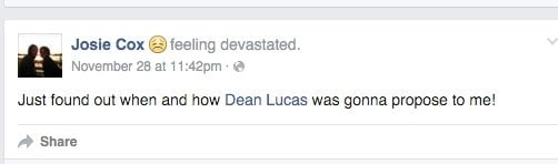 dean lucas josie cox