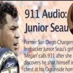 Junior Seau girlfriend Megan Noderer