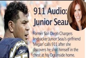 Junior Seau girlfriend Megan Noderer