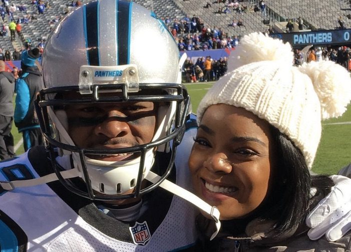 Ted Ginn Jr wife Krystle McCoy