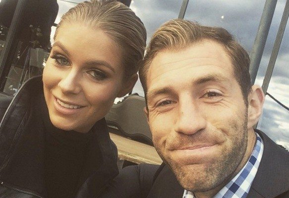 Rebeccah Panozza Travis Cloke