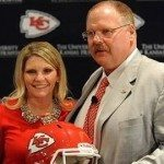 Tammy Reid NFL. Coach Andy Reid's wife