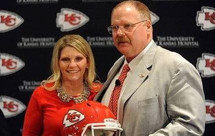 NFL Coach Andy Reid's wife Tammy Reid