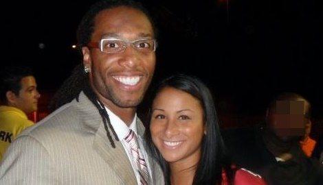 Brooke Stewart NFL Larry Fitzgerald's Girlfriend