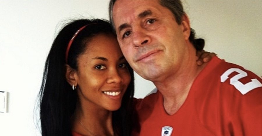 Bret Hitman Hart wife Stephanie Washington Hart