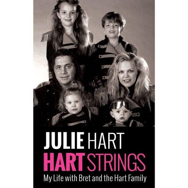Julie Smadu Hart Bret Hitman hart ex wife pic