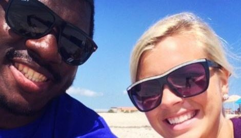Brittany Burns Buffalo Bills Tony Steward's Girlfriend