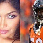 Rona Gonzales NFL player Von Miller's Girlfriend