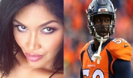 Rona Gonzales NFL player Von Miller's Girlfriend