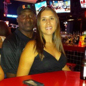Eddie Brown wife Heather brown pic