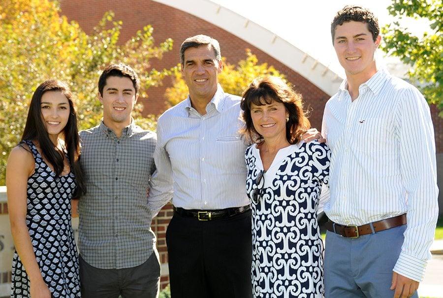 Jay Wright family pic