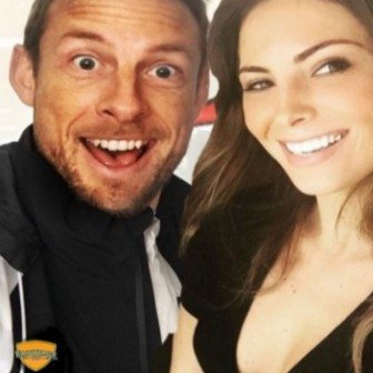 Brittny Ward F1 Jenson Button's New Girlfriend