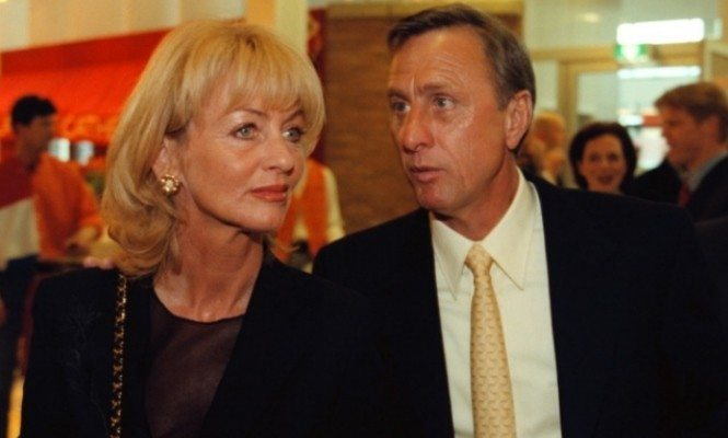 Danny Coster Cruyff is Johan Cruyff's Wife