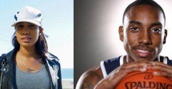 Tyrina Lee NBA Jeff Teague's girlfriend