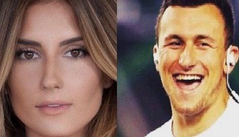 Bianca Ghezzi NFL Johnny Manziel's New Girlfriend