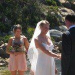 sarah Tait husband bill tait wedding pic