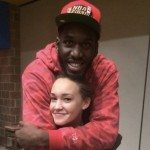 Daniel_Ochefu_girlfriend_Kelli_Blue @fabwags
