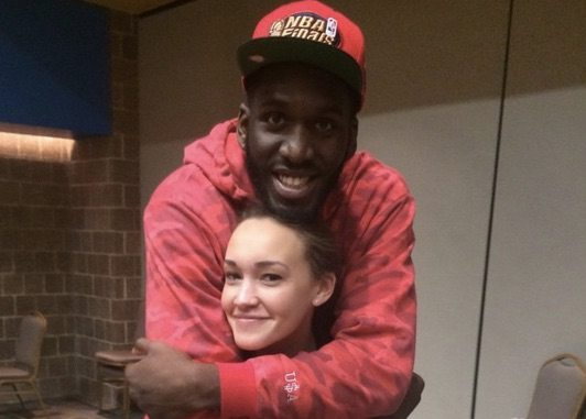 Kelli Blue Villanova/ NBA Daniel Ochefu's Girlfriend