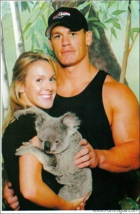 John Cena's ex-Wife Elizabeth Huberdeau and GF Nikki Bella