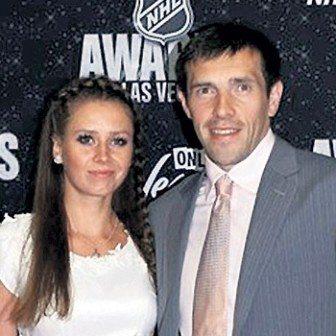 Maria Datsyuk NHL Pavel Datsyuk's Wife