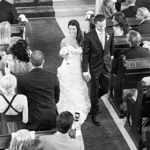 erik karlsson Therese wedding pic