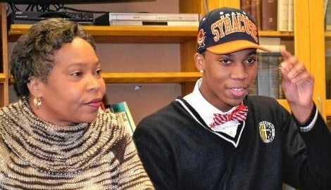 Jacquie Richardson Syracuse Malachi Richardson's Mother
