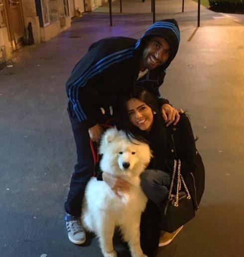 Larissa Saad PSG Lucas Moura's Girlfriend
