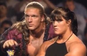wwe chyna Triple H photo