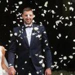 Jonas Valanciunas wife Egle Acaite wedding pics