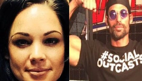 Cassandra Leppan WWE star Adam Rose's Wife