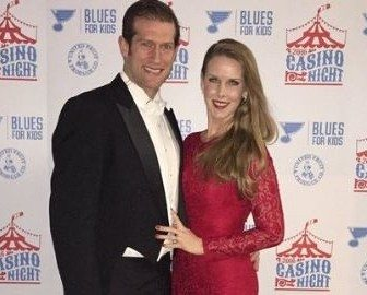 Kelly Backes NHL David Backes' wife