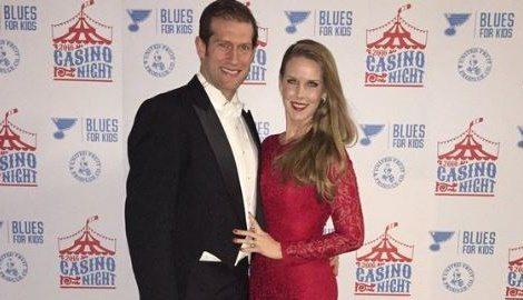 Kelly Backes NHL. David Backes' wife