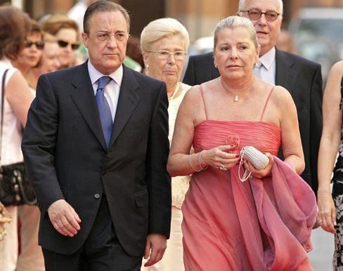 Maria Angeles Sandoval Florentino Perez's Wife - Fabwags.com